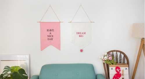ins少女风格卧室装修 百元以内打造ins风可爱卧室